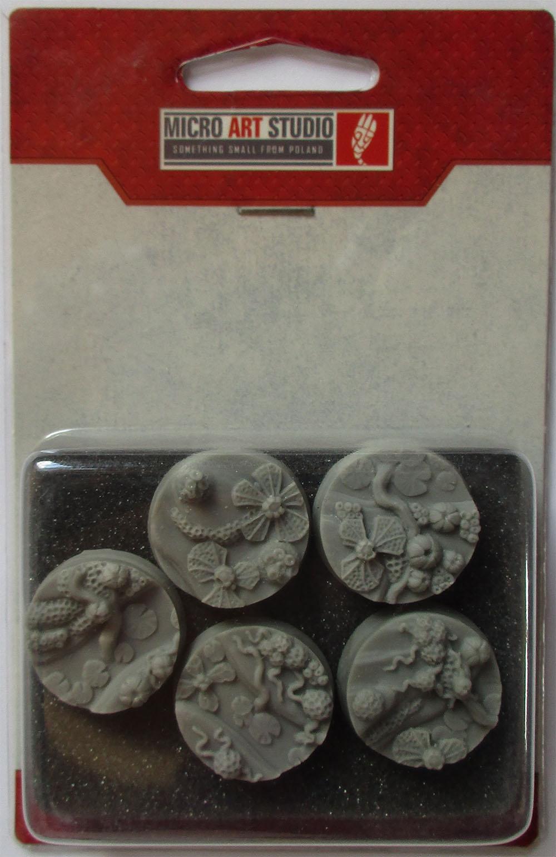 Round 60mm 1 Wraithstone Bases - *MicroArtStudio*